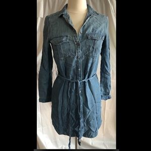 American Eagle button front Jean dress